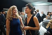 CHRISTINA FREYBERG; ZOE RAMSAY, The LAPADA Art & Antiques Fair - private view, Berkeley Sq. London. 12  September 2016