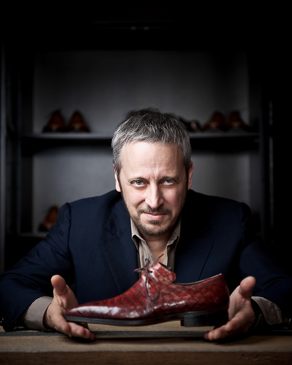 French bespoke luxury shoe maker Pierre Corthay.