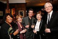 Linda & Neil Warnock, Julia & David Warnock, Jan Sikorski & David Grazyna