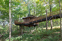 Treehouse in Mt Airy Forest in Cincinnati