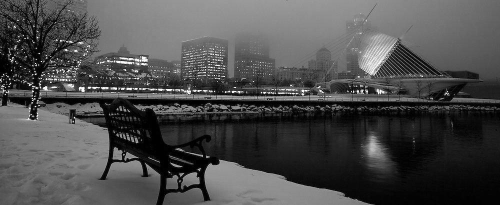 City of Milwaukee December 2007.  Photo by Tom Lynn....