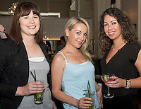 Alison Elstone, Galway City, Jocelyn Cunningham, THE Jocelyn Cunningham and Denise Manning, Pia Galway at the launch of Quickest Fox Marketing's latest Twitter sensation #galwayhour took place at the the Gaslight Bar & Brasserie at Hotel Meyrick.  Photo:Andrew Downes.
