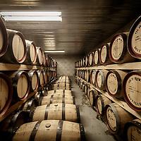 Barrels of Overeem whisky sit in barrels at Old Hobart Distillery in Hobart, Tasmania, August 25, 2015. Gary He/DRAMBOX MEDIA LIBRARY