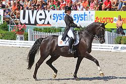 Barbancon Mestre Alexandra (ESP) - Mr Q<br /> European Championships Junior 2010<br /> © Hippo Foto - Leanjo de Koster