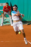 Paris, France. May 25th 2009. .Roland Garros - Tennis French Open. 1st Round..French player Jeremy Chardy against Thiago Alves.