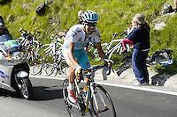 Aru Fabio  -  Astana - 29.05.2015 - Tour d'Italie - Etape 19 :  Gravellona Toce / Cervinia<br />Photo : Sirotti / Icon Sport