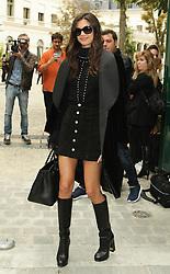 Sara Sampaio  bei der Balmain Modenschau während der Paris Fashion Week / 290916<br /> <br /> ***Balmain fashion show as part of Paris Fashion Week on September 29th, 2016 in Paris***