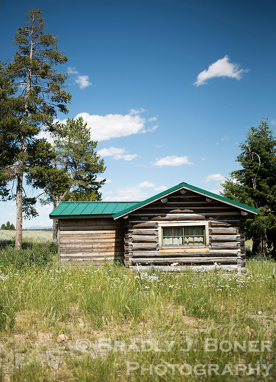 The White Grass Ranch has more than a dozen restored guest cabins where attendees of the historic preservation courses stay during the summer workshops.