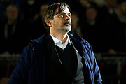 Phillip Cocu before the The FA Cup match between Northampton Town and Derby County at the PTS Academy Stadium, Northampton, England on 24 January 2020.