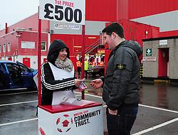 Bristol City Community Trust - Photo mandatory by-line: Dougie Allward/JMP - Tel: Mobile: 07966 386802 29/12/2012 - SPORT - FOOTBALL - Ashton Gate - Bristol -  Bristol City v Peterborough United - Championship.