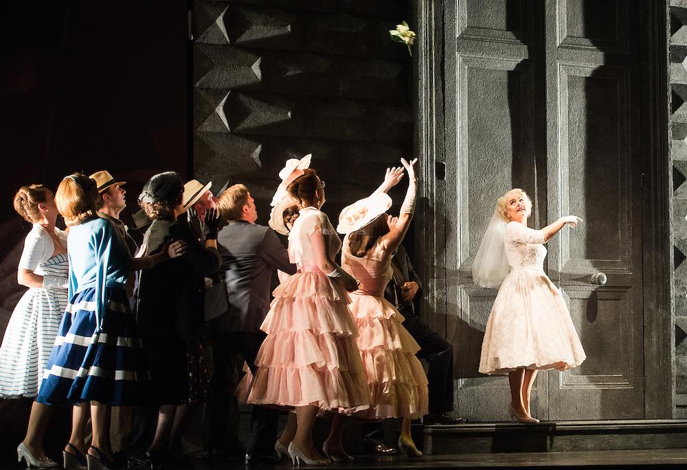 Glyndebourne Touring Opera present Don Giovanni by Wolfgang Amadeus Mozart<br /> <br /> <br /> <br /> Zerlina  - Louise Alder<br /> <br /> <br /> Conductor Pablo Gonz&aacute;lez (15, 22, 25, 27, 30 Oct; 4,8, 11, 15, 18, 22, 25 Nov)<br /> Ben Gernon (29 Nov; 2, 6, 9 Dec)<br /> Director Jonathan Kent<br /> Revival Director Lloyd Wood<br /> Designer Paul Brown<br /> Lighting Designer Mark Henderson<br /> <br /> The Glyndebourne Tour Orchestra<br /> The Glyndebourne Chorus<br /> <br /> Don Giovanni Duncan Rock<br /> Donna Anna Ana Maria Labin<br /> Don Ottavio Anthony Gregory<br /> Donna Elvira Magdalena Molendowska<br /> Leporello Brandon Cedel<br /> Il Commendatore Andrii Goniukov<br /> Zerlina Louise Alder<br /> Masetto Božidar Smiljanić