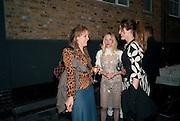 BAY GARNETT; NATALIE PRESS; ALICE TEMPERLEY, BROWN'S 40TH ANNIVERSARY DINner. Regent Loft and Penthouses. Marshall St. London. 13 May 2010. -DO NOT ARCHIVE-© Copyright Photograph by Dafydd Jones. 248 Clapham Rd. London SW9 0PZ. Tel 0207 820 0771. www.dafjones.com.
