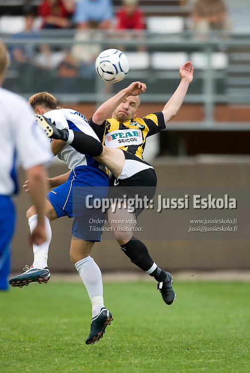 Tero Koskela. Honka - TVMK. Intertoto Cup. Vantaa 24.6.2007. Photo: Jussi Eskola