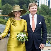 LUX/Luxemburg/20180523 - Staatsbezoek Luxemburg dag 1, Koning Willem Alexander en Koningin Maxima