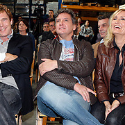 "NLD/Rotterdam/20081010 - Perpsresentatie "" de Froger ff geen cent te makken"" , John de Mol, Rene en Natasja Froger"