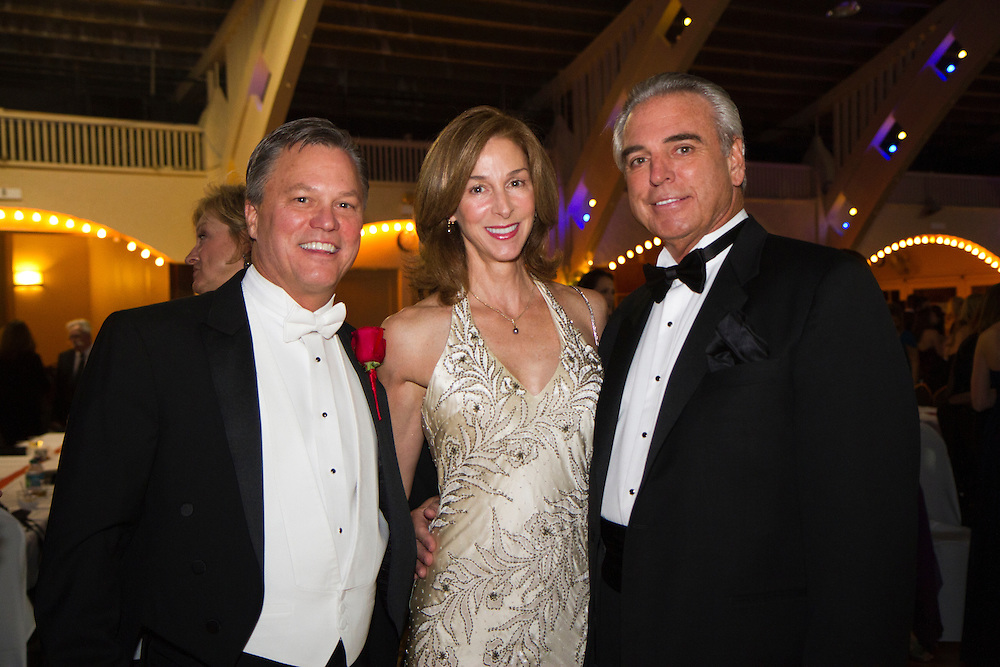 Caption:(Wednesday 12/28/2011 St. Petersburg) Mark Chmielewski, Elizabeth Hyden and John DeSilva..Summary:The Presentation Ball, hosted by the St. Petersburg Debutante Club. ..Photo by James Branaman