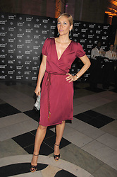 TANYA BRYER at a reception to launch Montblanc's First Fine Jewellery Collection held at The Victoria & Albert Museum, Cromwell Road, London SW7 on 24th April 2007.<br />