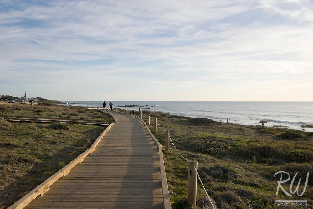 Moonstone Beach Boardwalk, Cambria, California