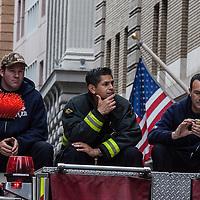 San Francisco Giants World Series Victory Parade 2012 - San Francisco Fire Department