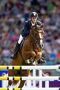 Billy Twomey - Romanov<br /> World Equestrian Festival, CHIO Aachen 2012<br /> © DigiShots