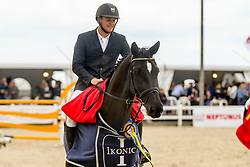 Bossaerts Stef, BEL, Mr. Jones<br /> Belgian Championship horses 6 years of age<br /> Gesves - 2018<br /> © Hippo Foto - Julien Counet<br /> 15/08/2018