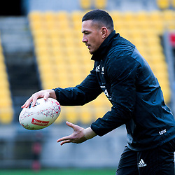 Sonny Bill Williams. All Blacks training at Westpac Stadium in Wellington, New Zealand on Thursday, 14 June 2018. Photo: Dave Lintott / lintottphoto.co.nz