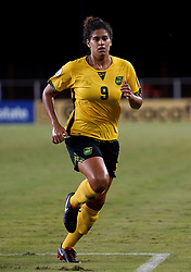 October 12, 2018 - Edinburgh, Scotland, United Kingdom - Edinburg, NC - OCTOBER 11: 2018.Marlo Sweatman of Jamaica.During CONCACAF Women's Championship Group B match between Cuba against Jamaica at H-E-BPark Stadium, Edinburg,  on October 11, 2018  (Credit Image: © Action Foto Sport/NurPhoto via ZUMA Press)