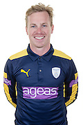 Hampshire wicket keeper-batsman Adam Wheater in the 2016 Royal London One Day Cup Shirt. Hampshire CCC Headshots 2016 at the Ageas Bowl, Southampton, United Kingdom on 7 April 2016. Photo by David Vokes.