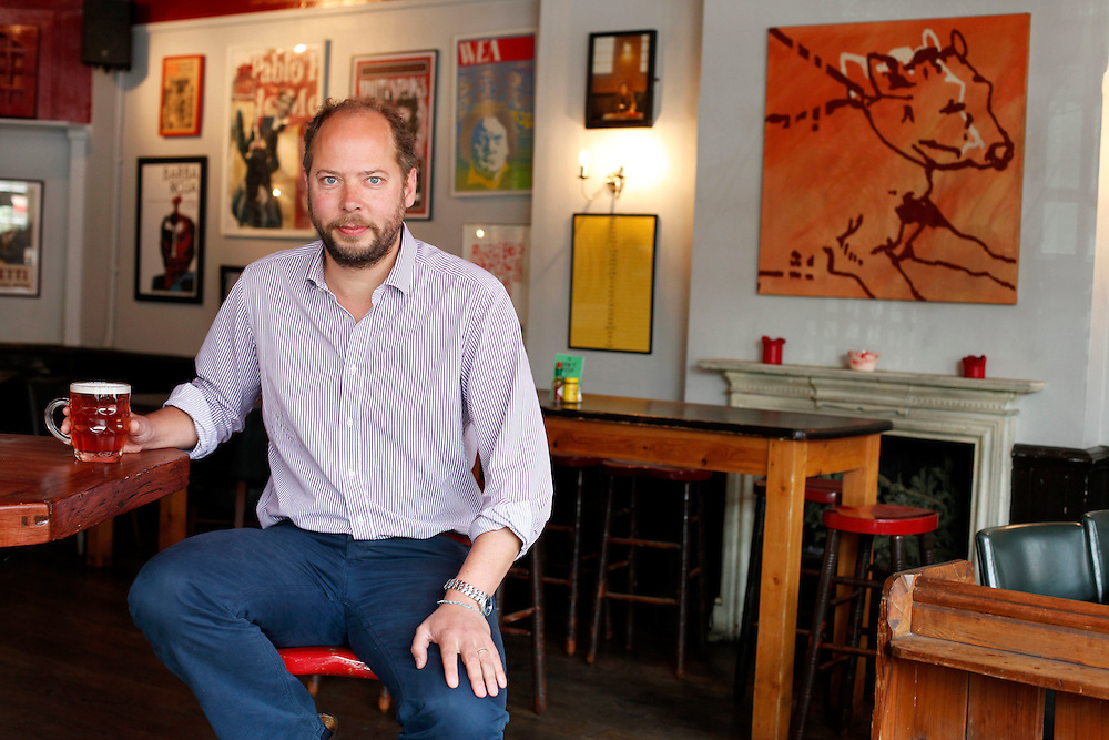Charlie McVeigh, founder of the pub chain Draft House.Charlie McVeigh, founder of the pub chain Draft House.