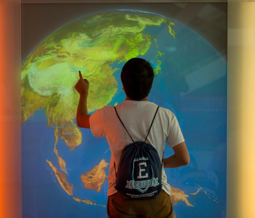 Houston ISD EMERGE students tour Northeastern University, June 2, 2014.