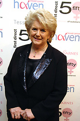 BARONESS BRENDA DEAN at an exhibition of artist Tess Barnes's work '50 Women of Substance' sponsored by First Direct in aid of Breast Cancer Haven held at The Mall Gallery, London on 26th February 2008.<br /><br />NON EXCLUSIVE - WORLD RIGHTS