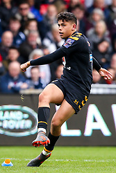 Jacob Umaga of Wasps  - Mandatory by-line: Robbie Stephenson/JMP - 05/10/2019 - RUGBY - AJ Bell Stadium - Manchester, England - Sale Sharks v Wasps - Premiership Rugby Cup