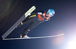 12.12.2015, Nordic Center, Nizhny Tagil, RUS, FIS Weltcup Ski Sprung, Nizhny Tagil, Damen, im Bild Jacqueline Seifriedsberger (AUT) // Jacqueline Seifriedsberger of Austria during Ladies Skijumping Competition of FIS Skijumping World Cup at the Nordic Center in Nizhny Tagil, Russia on 2015/12/12. EXPA Pictures © 2015, PhotoCredit: EXPA