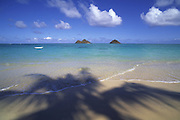 Mokulua Islands, Lanikai, Oahu, Hawaii, USA<br />