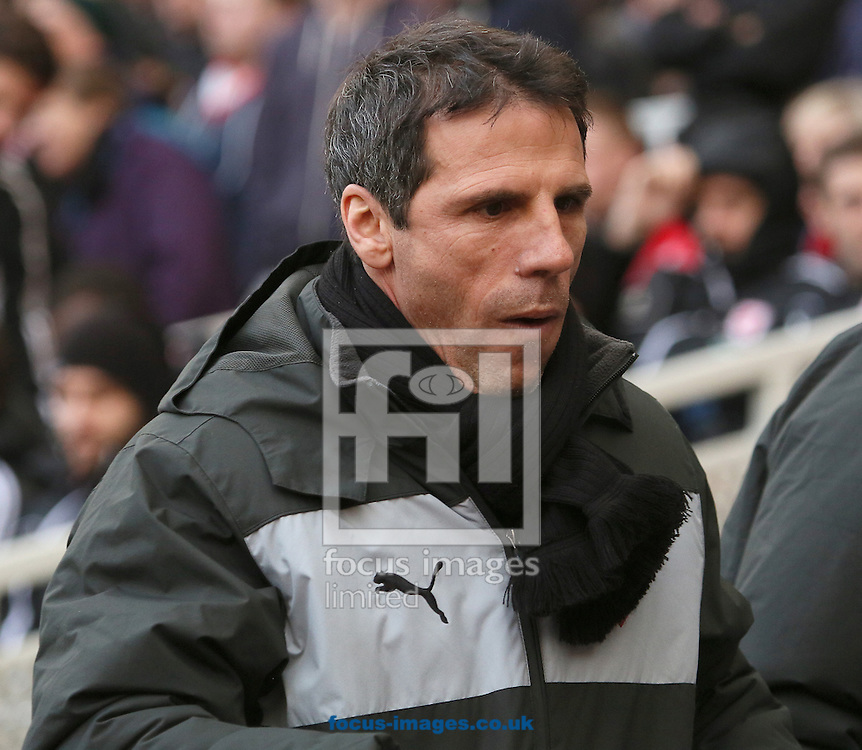 Picture by Paul Gaythorpe/Focus Images Ltd +447771 871632.12/01/2013.Watford manager Gianfranco Zola before the npower Championship match at the Riverside Stadium, Middlesbrough.