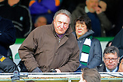 Rotherham manager Neil Warnock in the crowd before the Sky Bet League 2 match between Plymouth Argyle and York City at Home Park, Plymouth, England on 28 March 2016. Photo by Graham Hunt.