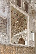 The Mirror Hal, Golestan Palace designed by Haj Abd ol Hossein Memar Bashi(Sanie ol Molk), Tehran, Iran.