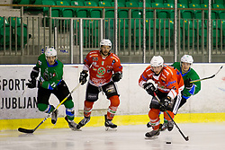 KOREN Gal of HK SZ Olimpija during hockey match between HK SZ Olimpija (SLO) and Rittner Buam (ITA) in 1st round of Alps Hockey League 2017/18, on September 13, 2017 in Tivoli, Ljubljana, Slovenia. Photo by Urban Urbanc / Sportida