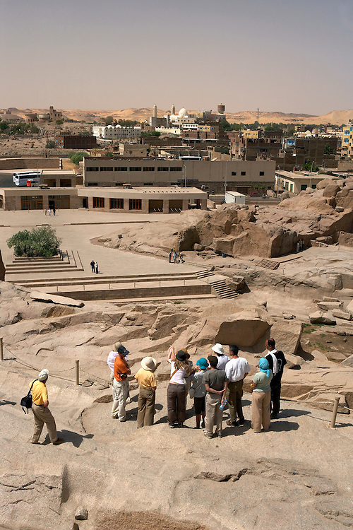 Quarry of the unfinished obelisk, Aswan, Egypt