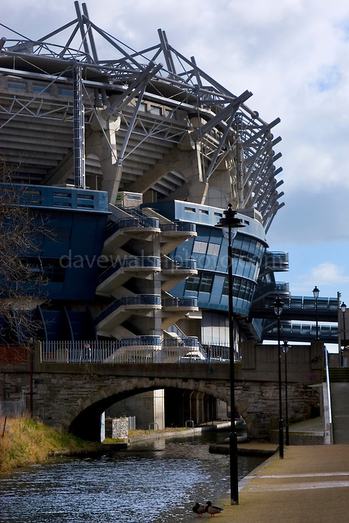 The home of gaelic sports in Ireland, the 80,000 seater Croke Park, controversially threw open its gates to soccer and rubgy while Dublin's Lansdown Road field was undergoing rebuilding. ..