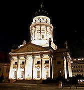opera house at night, berlin