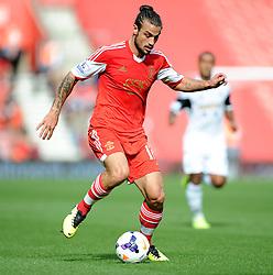 Southampton's Pablo Daniel Osvaldo - Photo mandatory by-line: Alex James/JMP - Tel: Mobile: 07966 386802 05/10/2013 - SPORT - FOOTBALL - St Mary's Stadium - Southampton - Southampton V Swansea City - Aviva Premiership