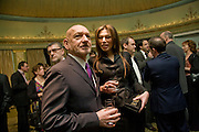 Sir Ben Kingsley; Daniela Barbosa de Carneiro , South Bank Show Awards, Dorchester Hotel, Park Lane. London. 20 January 2009