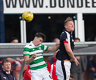 Dundee&rsquo;s Mark O&rsquo;Hara and Celtic&rsquo;s Kieran Tierney - Dundee v Celtic in the Ladbrokes Scottish Premiership at Dens Park, Dundee.Photo: David Young<br /> <br />  - &copy; David Young - www.davidyoungphoto.co.uk - email: davidyoungphoto@gmail.com