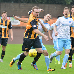 Berwick's Allan Walker leads the chase for the ball against Forfar.....(c) BILLY WHITE | SportPix.org.uk