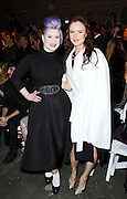 Kelly Osbourne and Juliette Lewis appear in the front row at Christian Siriano during the Mercedes-Benz Fall/Winter 2015 shows at Artbeam in New York City, New York on February 14, 2015.
