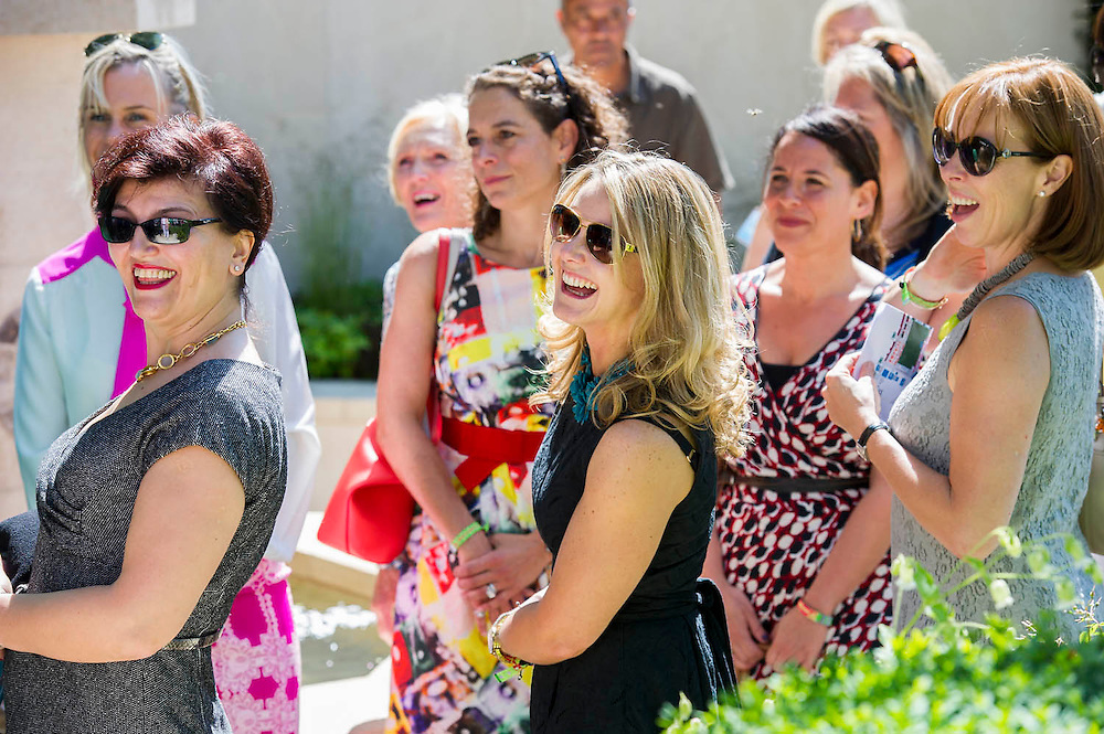 M&G invites a group of celebrity chefs onto its garden. The Chelsea Flower Show 2014. The Royal Hospital, Chelsea, London, UK