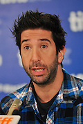11.SEPT.2010. TORONTO<br /> <br /> DAVID SCHWIMMER ATTENDS THE PRESS CONFRENCE OF NEW FILM TRUST AT THE 35TH TORONTO FILM FESTIVAL IN TORONTO.<br /> <br /> BYLINE: EDBIMAGEARCHIVE.COM<br /> <br /> *THIS IMAGE IS STRICTLY FOR UK NEWSPAPERS AND MAGAZINES ONLY*<br /> *FOR WORLD WIDE SALES AND WEB USE PLEASE CONTACT EDBIMAGEARCHIVE - 0208 954 5968*