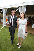 Ruth Wilson and Adrian Goodsell, The Veuve Clicquot Gold Cup 2007. Cowdray Park, Midhurst. 22 July 2007.  -DO NOT ARCHIVE-© Copyright Photograph by Dafydd Jones. 248 Clapham Rd. London SW9 0PZ. Tel 0207 820 0771. www.dafjones.com.