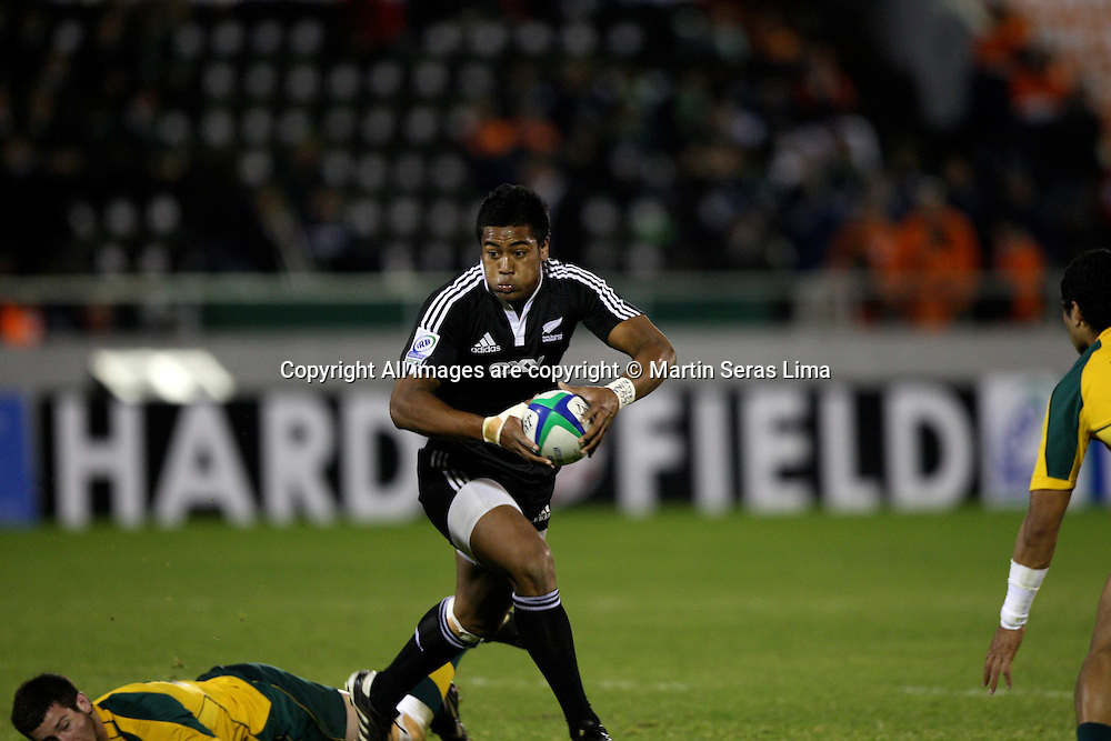 Julian Savea - Junior World Championship 2010 Argentina Final - Estadio El Coloso del Parque - Rosario 21/06/2010 -Photo: Martin Seras Lima